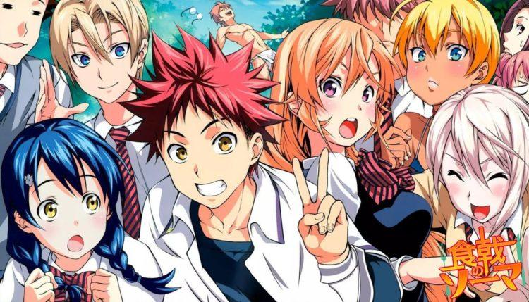 "Review anime yang menarik : ""Shokugeki no Souma"""