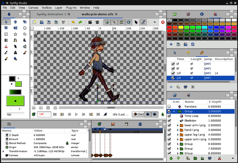 software untuk membuat animasi 2d