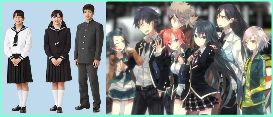 """""""perbedaan antara anime vs real life"""""""