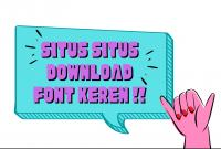 situs download font keren